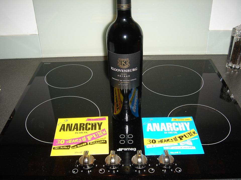 Punk rock and wine - good mix