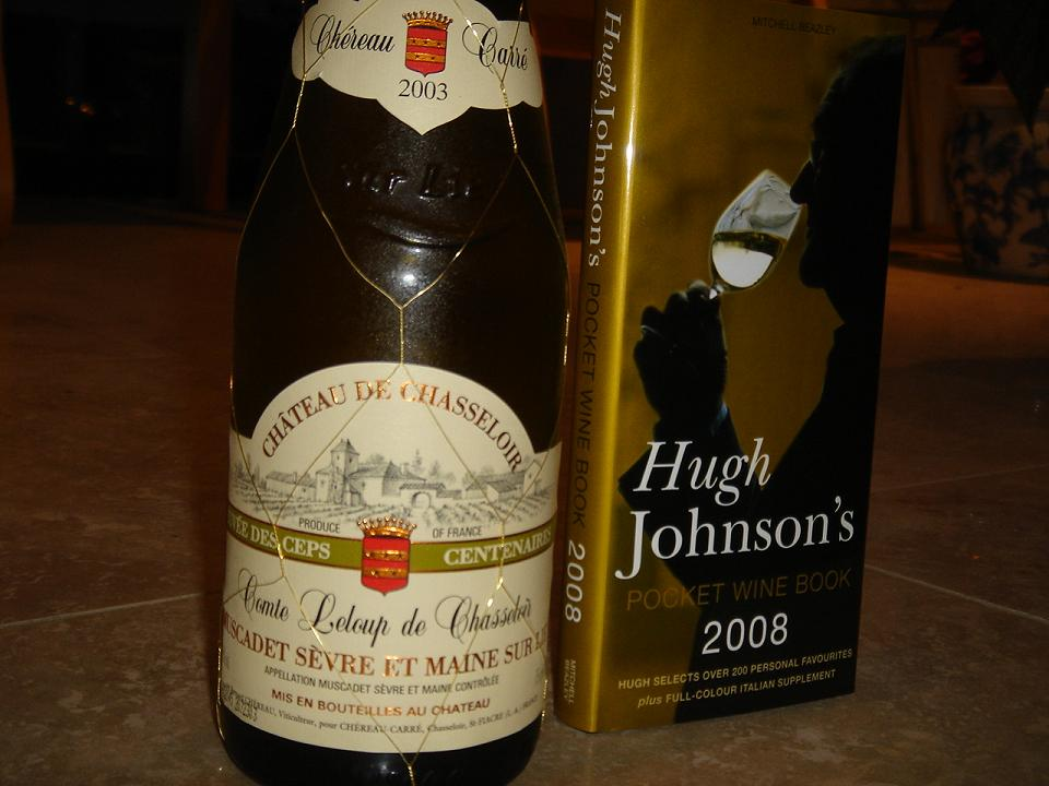Muscadet and Hugh…..for some reason