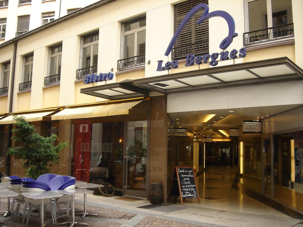 Confessions of a wino blog archive bistro les bergues for Apprentissage cuisine geneve