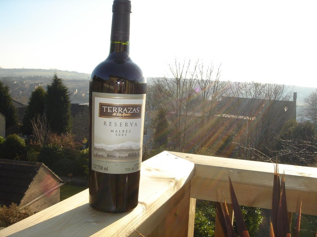 On the terrace (or balcony) - Malbec
