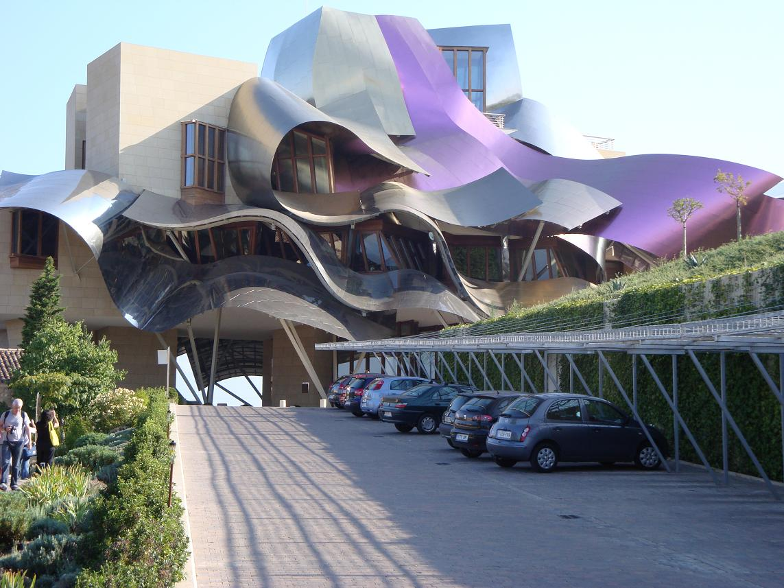 Evidence of risk taking at Riscal tasting
