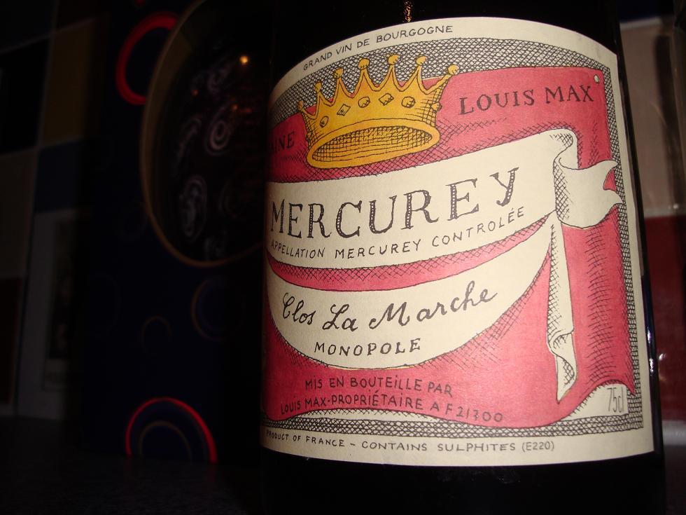 Mercurey - isn't that close to the Sun?