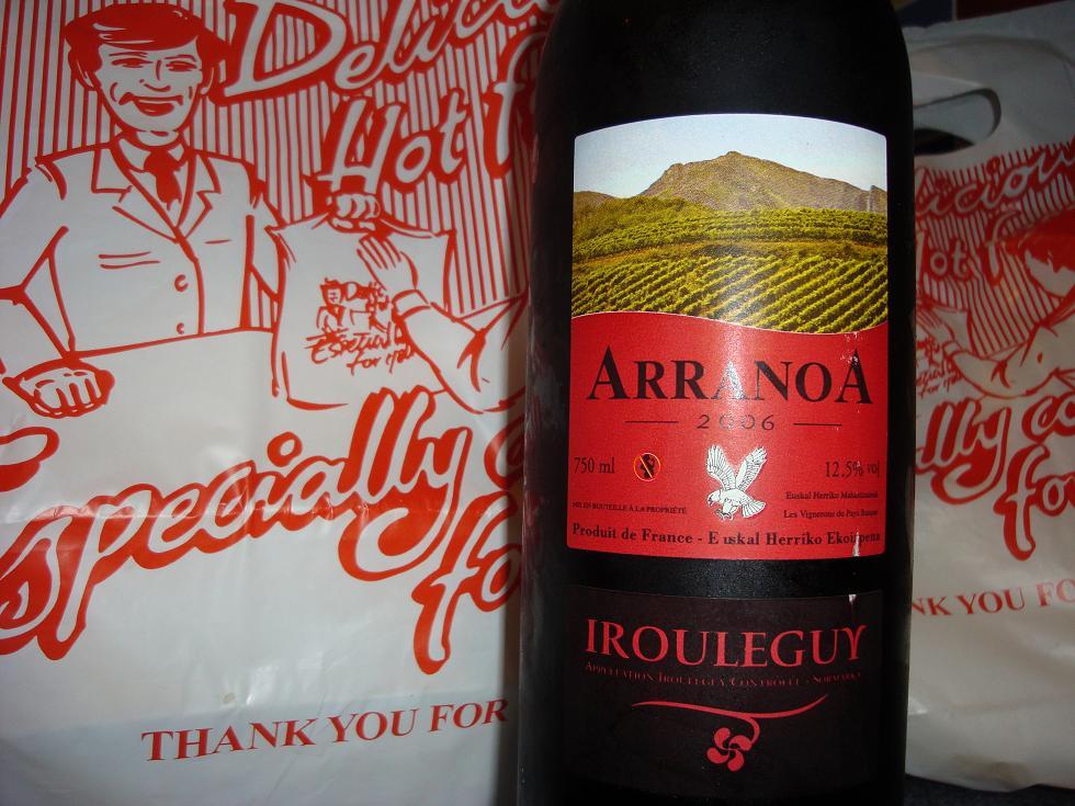 Curry partner extraordinaire...Arranoa