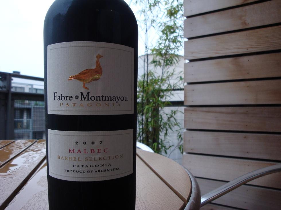 Rain again...and some Fabre Montmayou Malbec for some reason