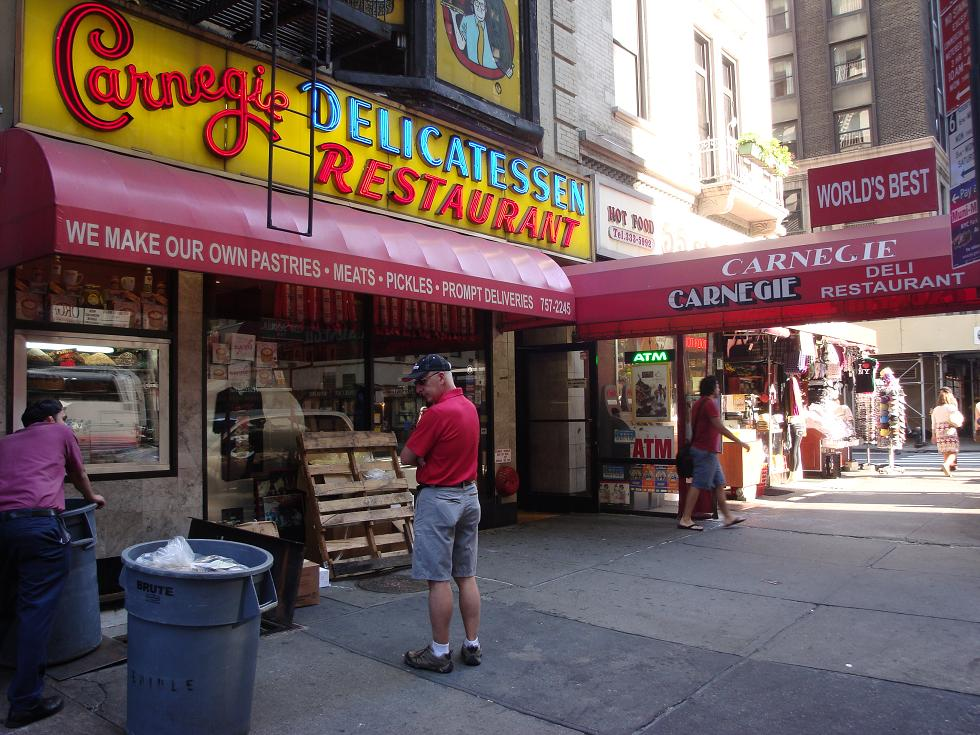 Deli belly - Carnegie Deli New York