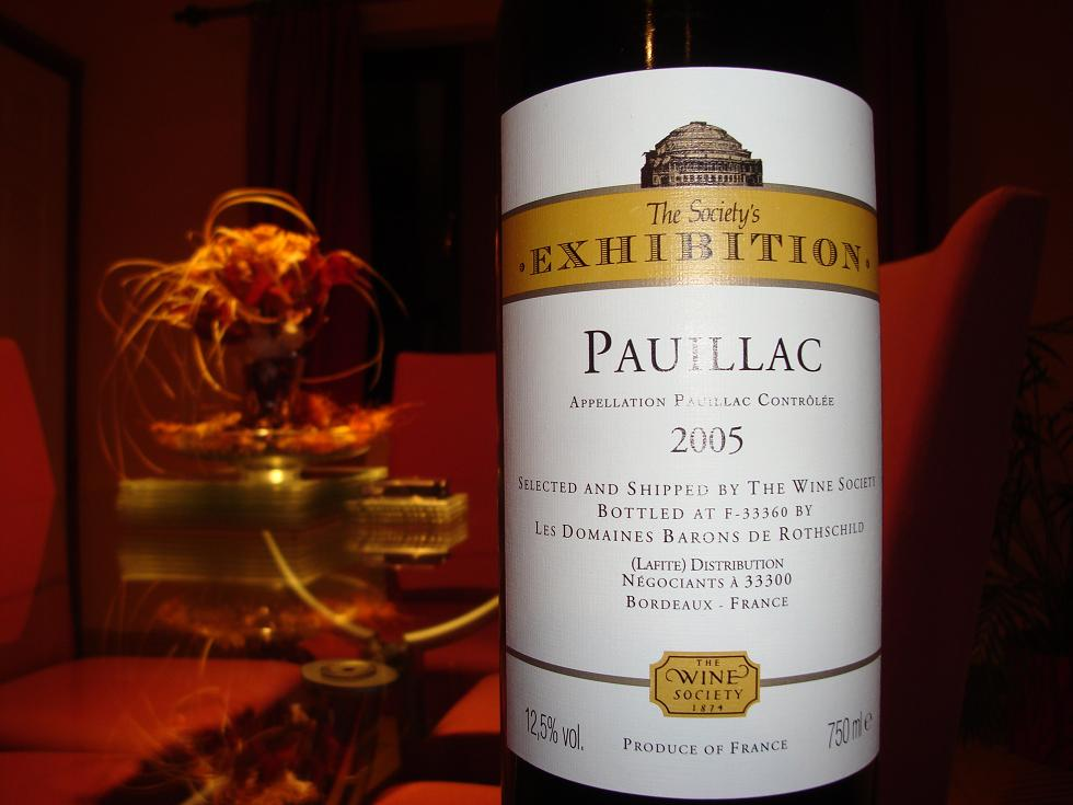 Pauillac from the Gods of wine...for some reason