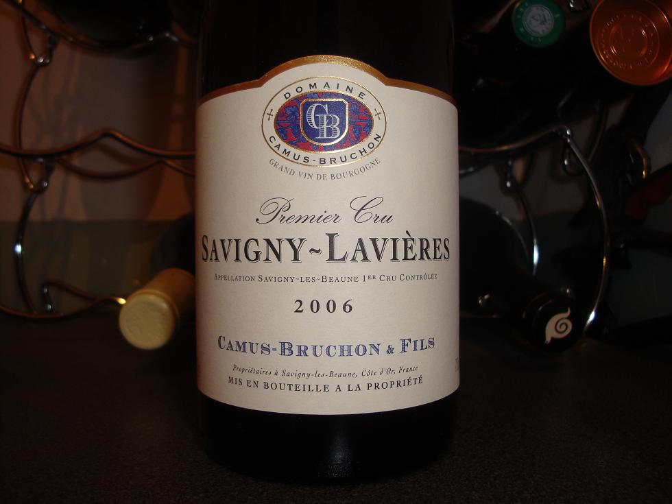 Camus-Bruchon Savigny Lavieres 2006