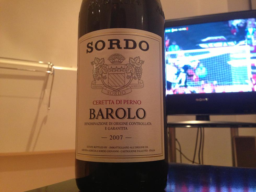 Sordo Barolo. And England beating Poland to qualify for the 2014 World Cup...for some reason