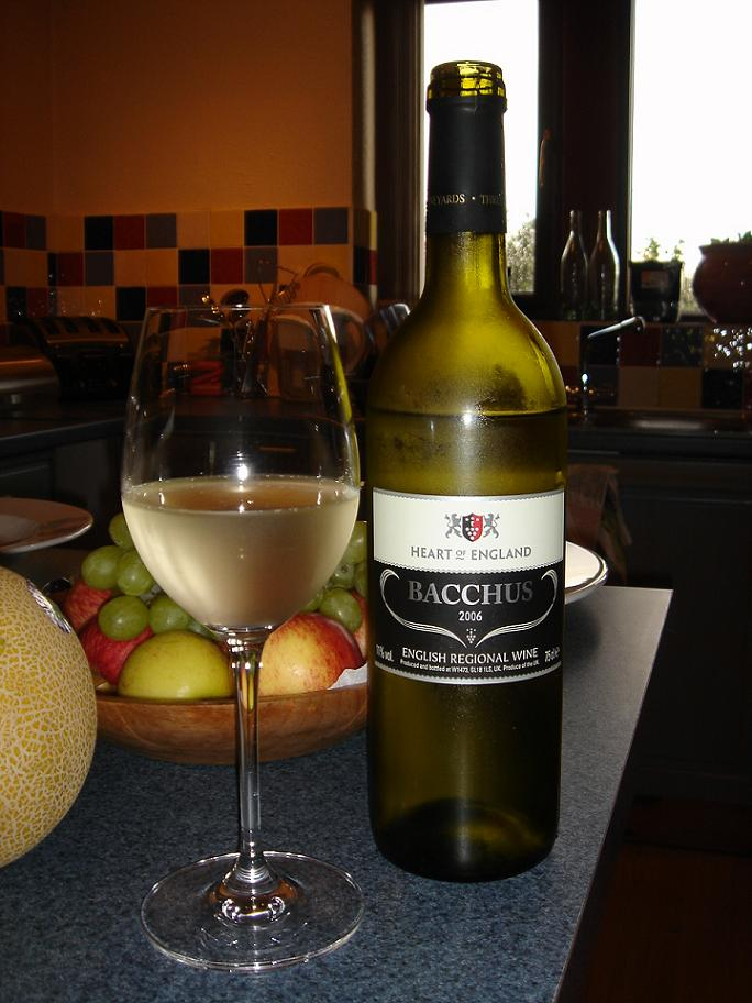 Bacchus next to a bowl of fruit….for some reason