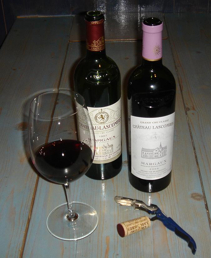 Lascombes - wine has improved but the bottle design has taken a step backward (for some reason)