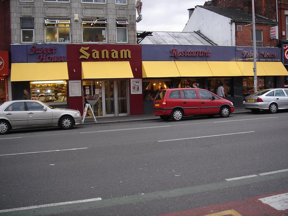 Sanam - ringstingers a speciality but no alcohol