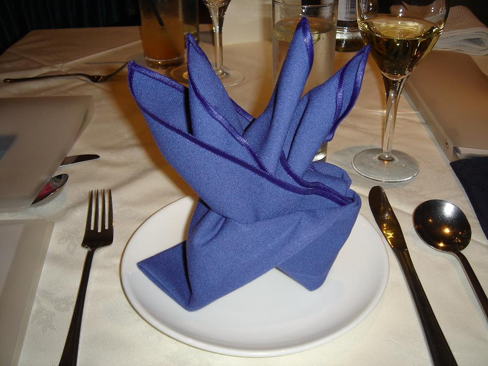 What's up miduck?  Nice bit of origami…..for some reason