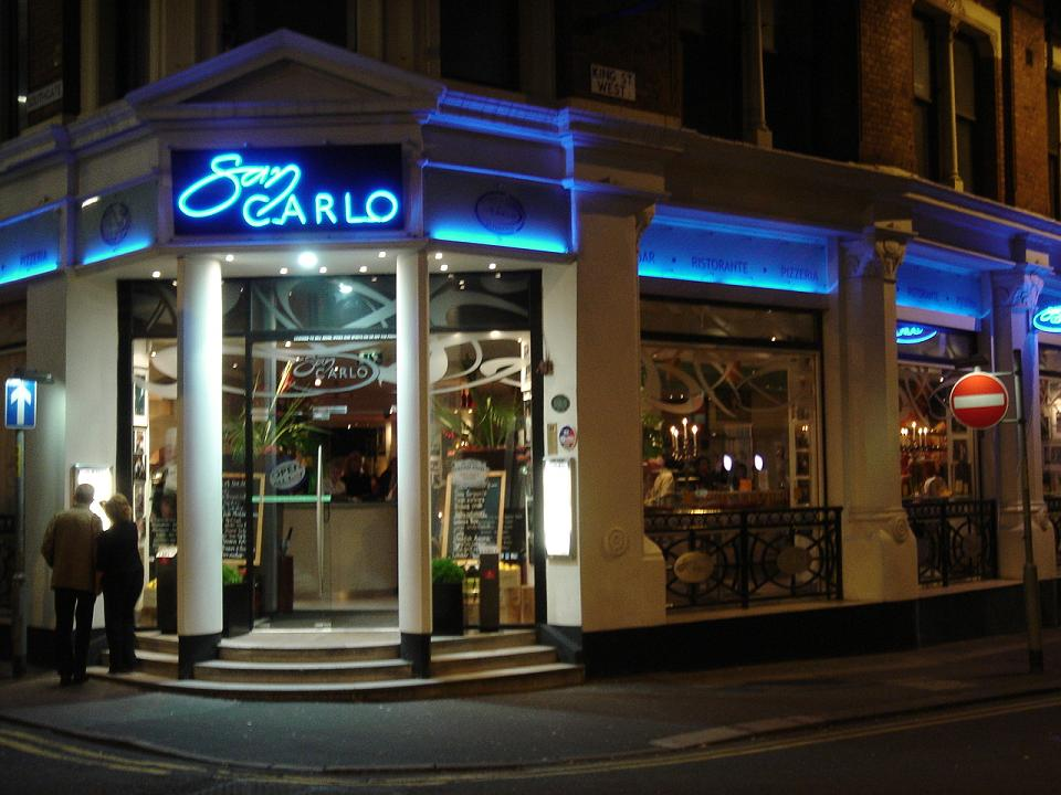 San Carlo - no entry for minor celebs