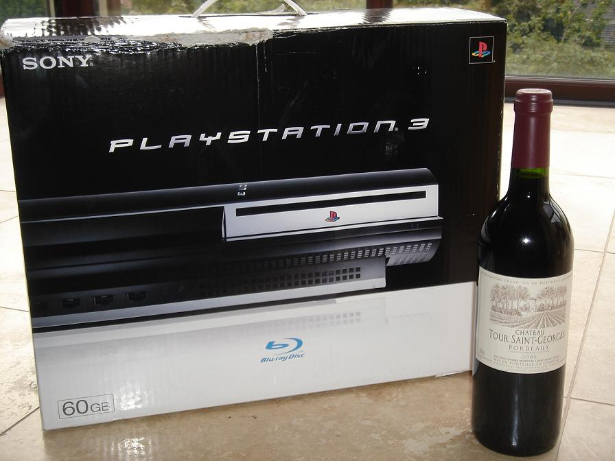 Tour St Georges and a Playstation 3 (disgrace)
