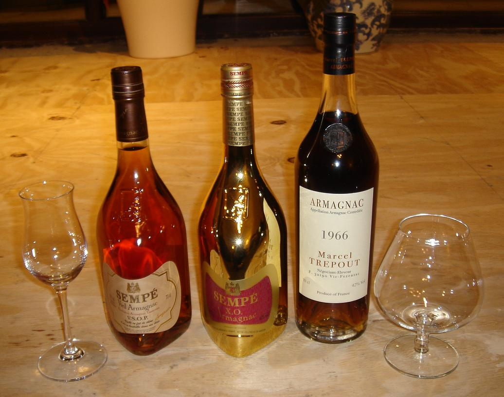 Which Armagnac…and er which glass?