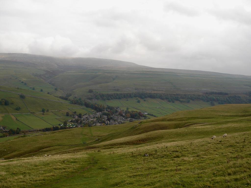 Kettlewell nestling in the hills