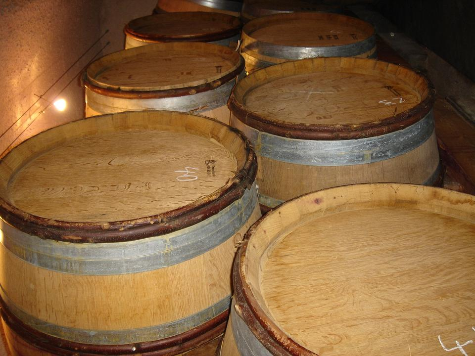 Oak barrels….for some reason