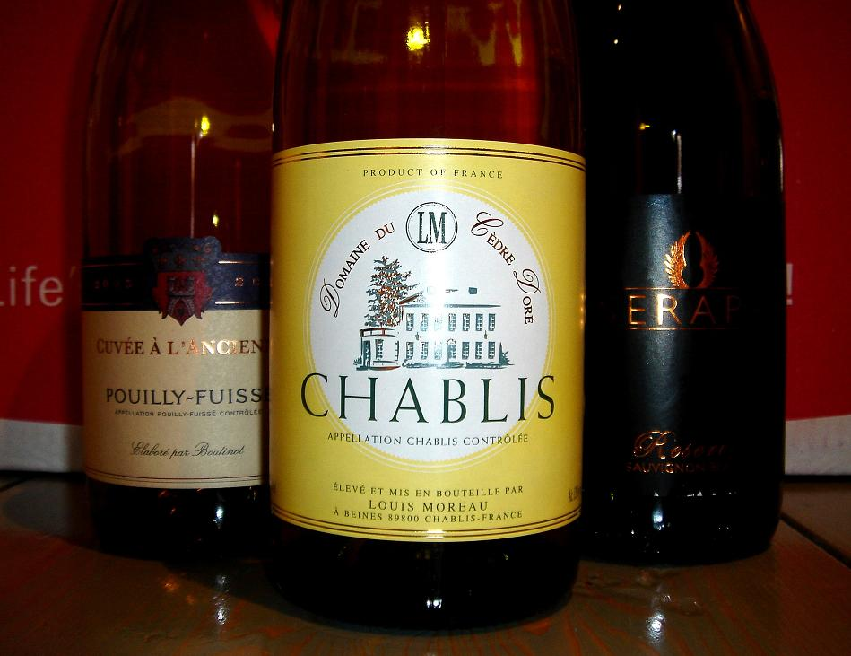 Cèdre Doré Chablis with a couple of mates...for some reason