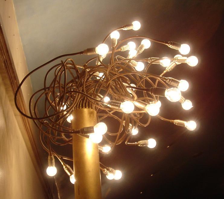 Medusa inspired light fittings…
