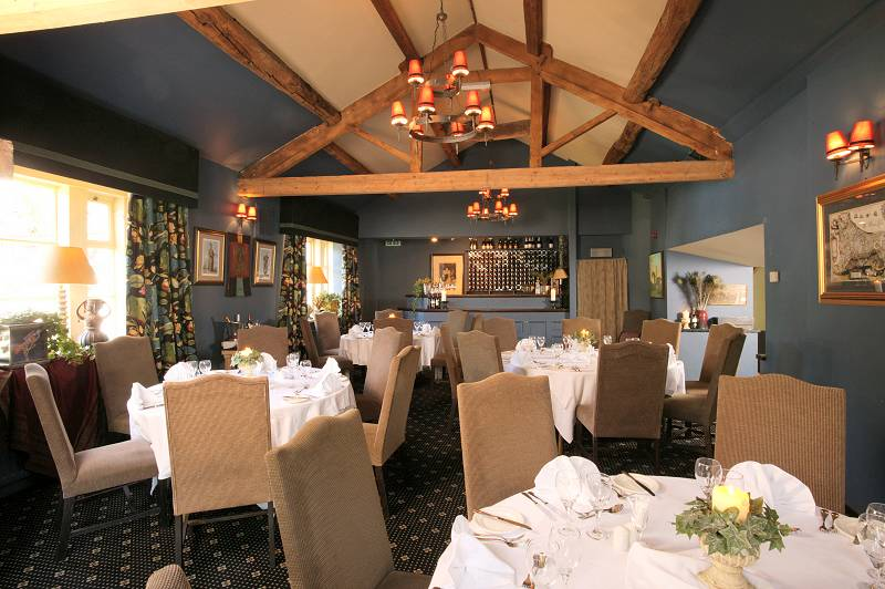 Nice dining room…