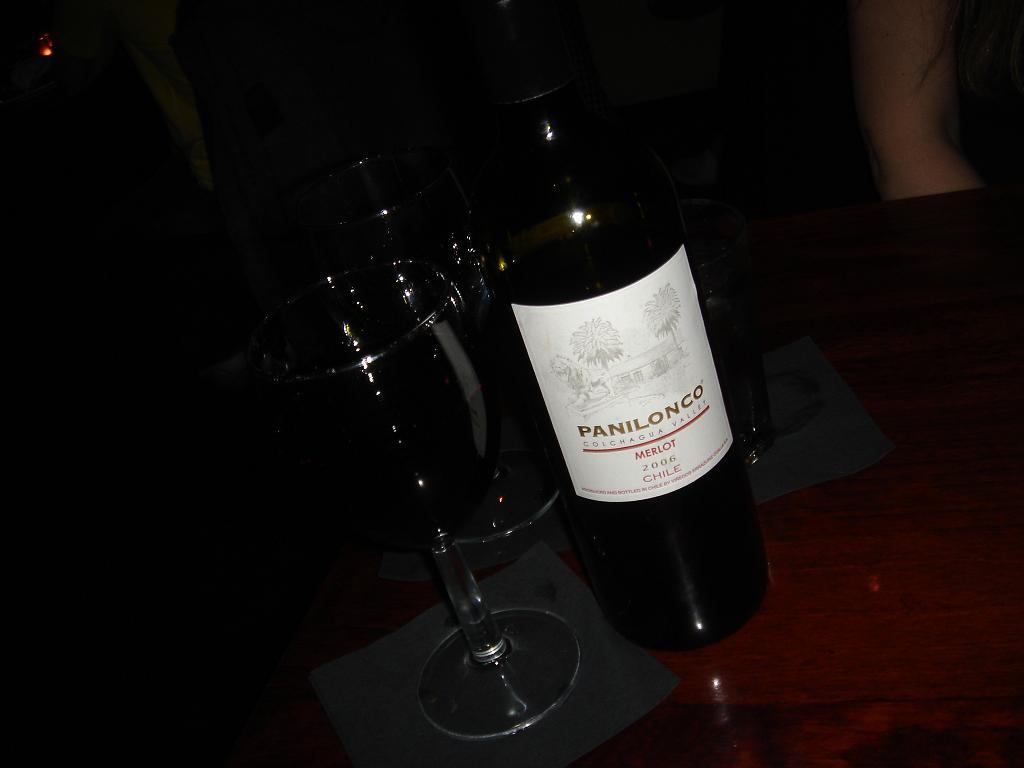Sing with me - Una Panilonco Blanca…or rather, tinto…..