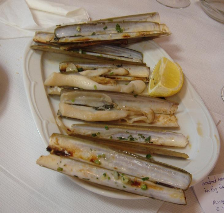Sharp wit and razor clams