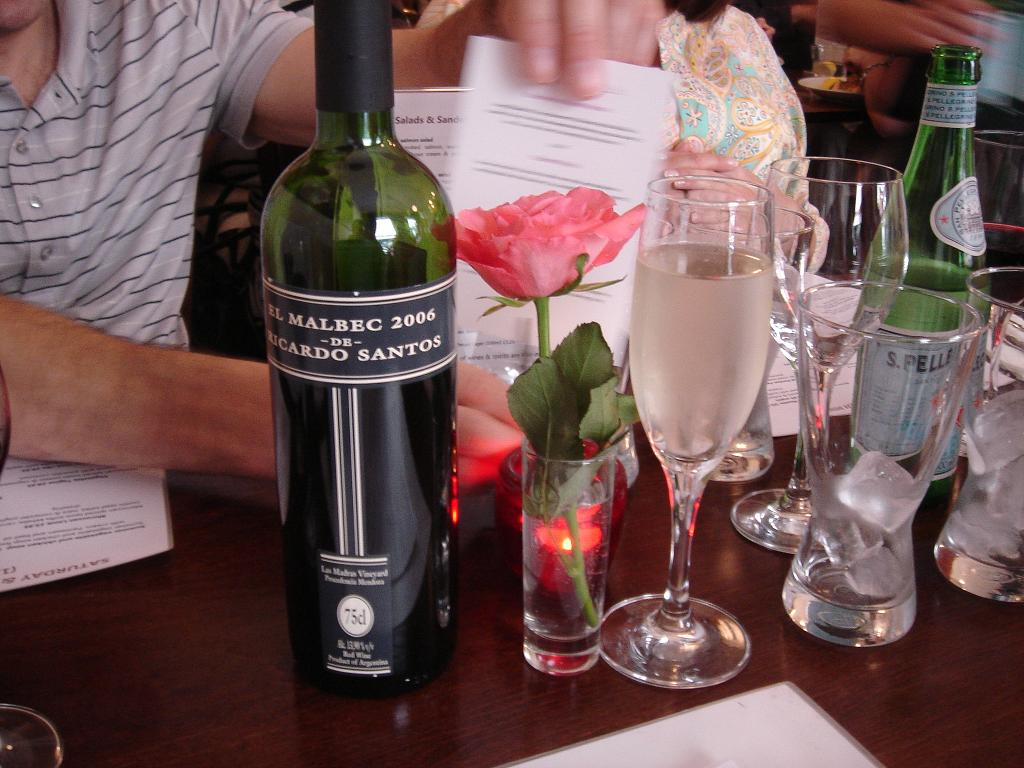 Saint Richard\'s Malbec, can you drink the rose too?