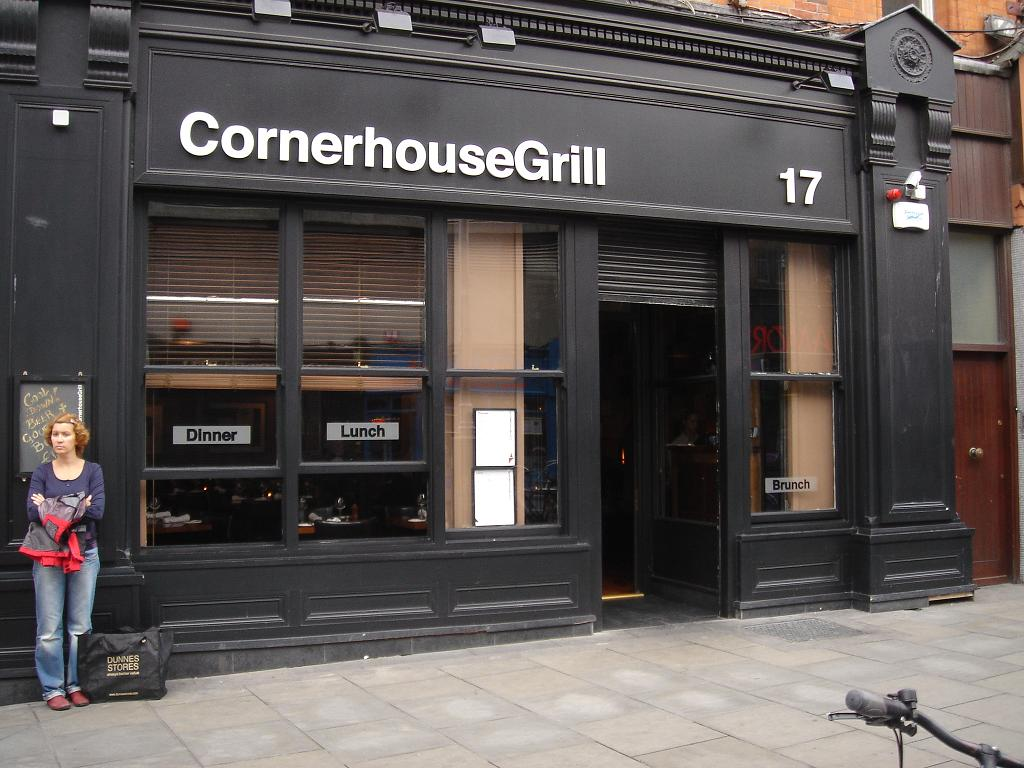 Cornerhouse - on a corner for some reason