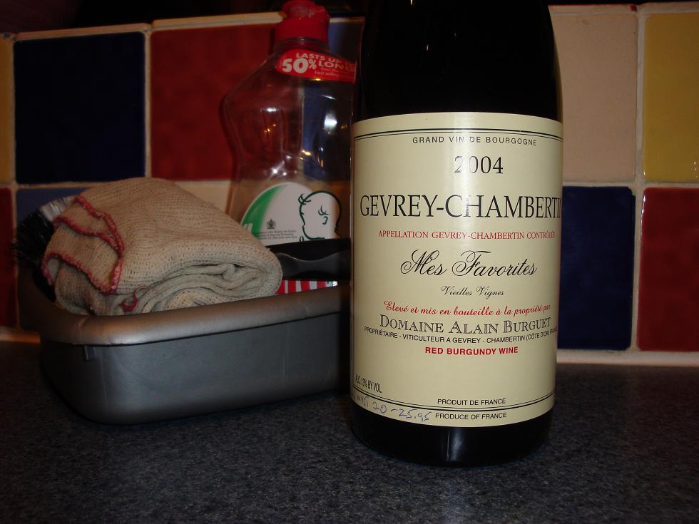 Gevrey and some fairy liquid...for some reason