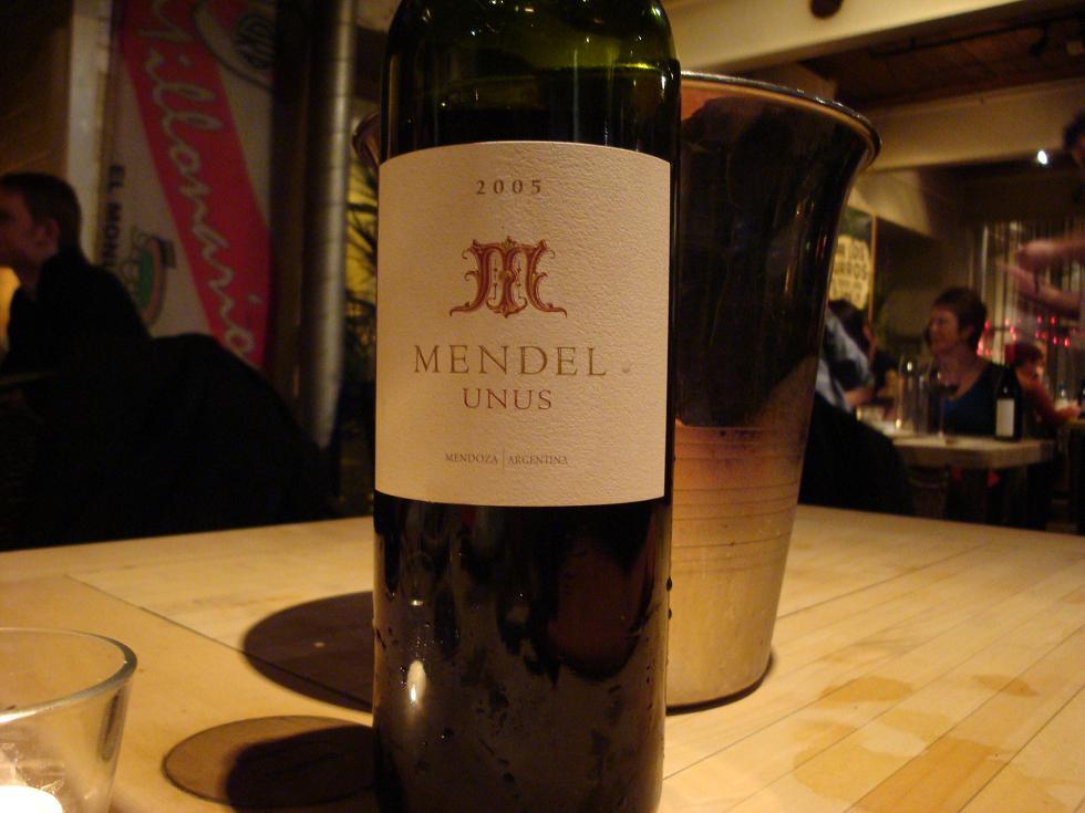 One helluva wine - Unus