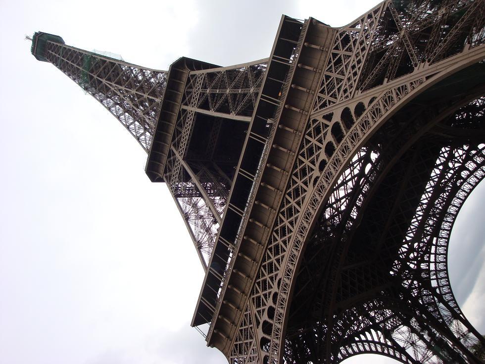 Huge erection in Paris