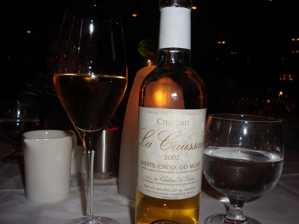 Sainte-Croix - great with foie?
