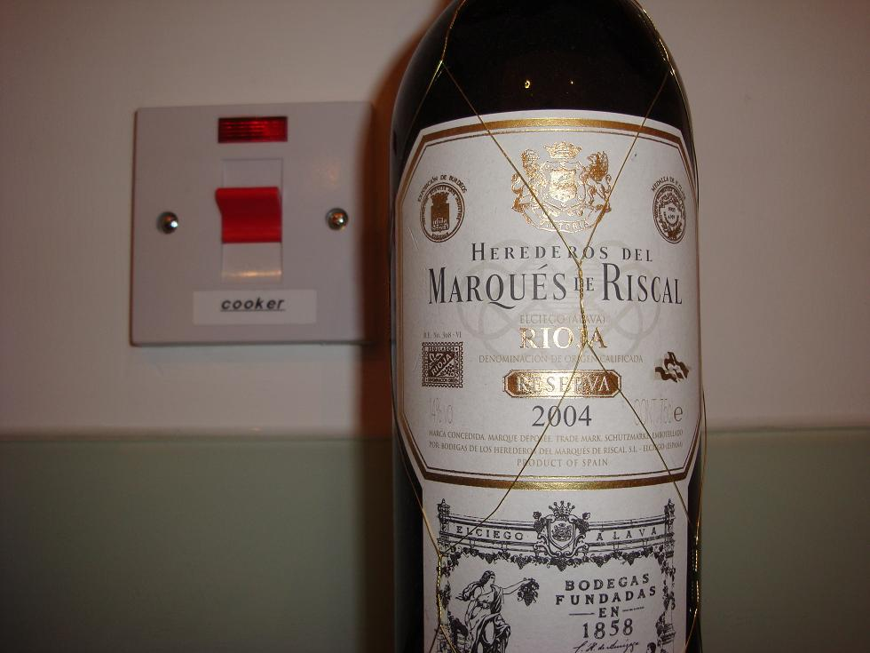 This Rioja is cookin!