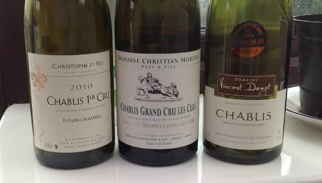 Usual suspects - Chablis line up
