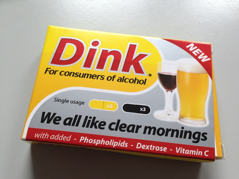 Dink when you drink...for some reason for which I have forgotten